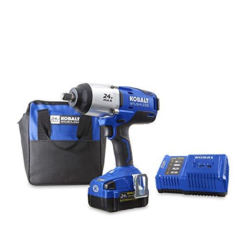 Kobalt 24-Volt Max-Volt 12-in Drive Cordless Impact Wrench Item 672825