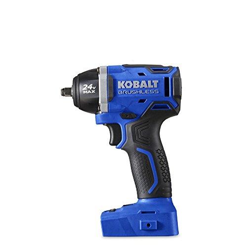 Kobalt 24-Volt Max-Volt 38-in Drive Cordless Impact Wrench Model 672828