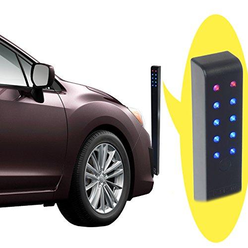 Park-Aid Car Garage Parking Sensor Adjustable Programable Motion Activated Wireless Parking Assist
