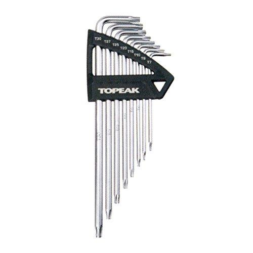 Topeak Torx Wrench Set bike tools grey