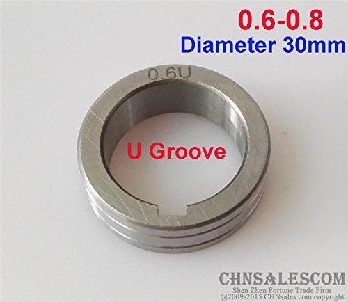 CHNsalescom Wire Feed Roller U Groove 06-08 Diameter 30mm MIG MAG Welding Machine