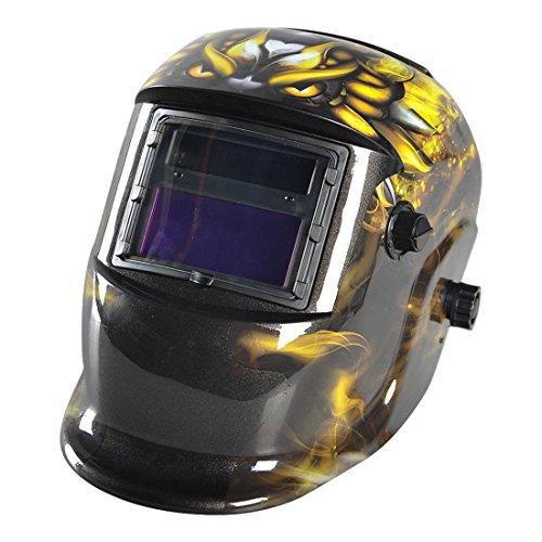 SODIALR Auto Darkening Welding Helmet Welders Mask Solar Powered Grinding