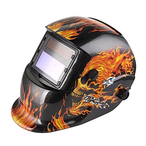 Sun YOBA Auto Darkening Welding Helmet Welding Mask Welders Mask with Grinding Function 2