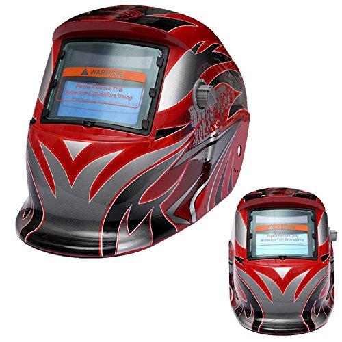 Welding Helmet - SODIALR New Pro Solar Auto Darkening Welding Helmet Arc Tig Mig Grind Mask Grinding HOT