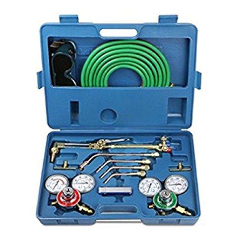 USA Premium Store Welding Kit Victor Type Oxygen Acetylene Cutting Torch Burner w 15 twin hose