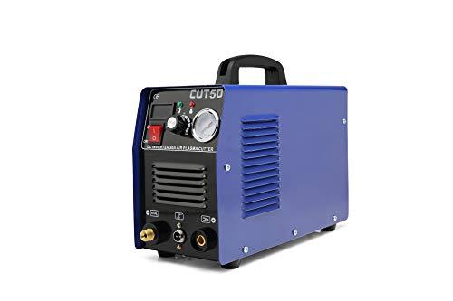 50A Air Plasma Cutter Inverter DC Digital Display IGBT Portable CUT50 Welding Portable Machine Cutting 50Amp Dual Voltage 110V220V Plasma Cutter 50