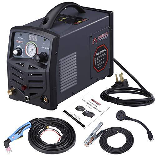 Amico 40 Amp Non-touch Pilot Arc Air Plasma Cutter 110V220V Dual Voltage Cutting Machine 12 in Clean Cut APC-40HF