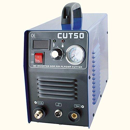 Finlon Plasma Cutter Machine Potable Digital Welding Machine 110V 50A Arc Welder Inverter Cutting Machine
