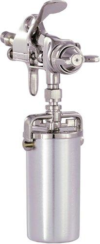Detail Paint Sprayer Gun - Pattern and Fluid Control Handheld Sprayer w 8-ounce Anti-Drip Canister Campbell Hausfeld DH550000AV