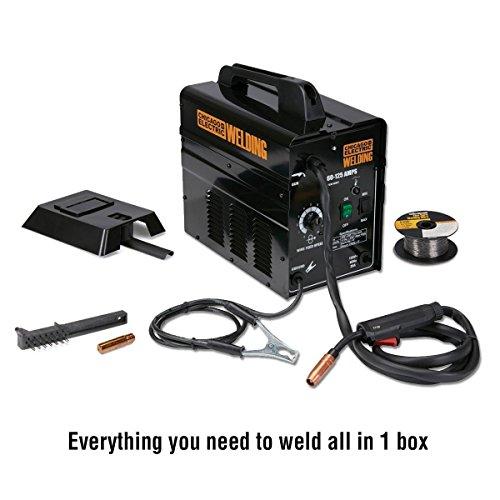 125 Amp Flux Core Wire Welder