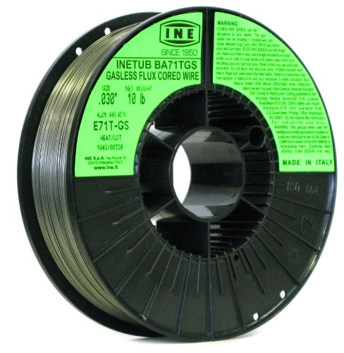 INETUB BA71TGS 030-Inch on 10-Pound Spool Carbon Steel Gasless Flux Cored Welding Wire