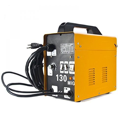 PentonMIG 130 Welder Flux Core Wire Automatic Feed Welding Machine w Free Mask