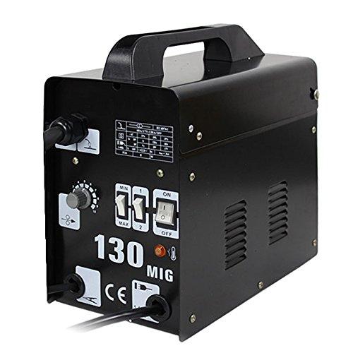 ZENY MIG 130 Welder Flux Core Wire Automatic Feed Welding Machine w Free Mask MIG130