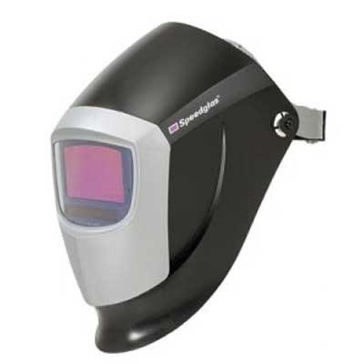 Speedglas Welding Helmets - 3M Speedglas Welding Helmet With 9002D Adf Filter - Black