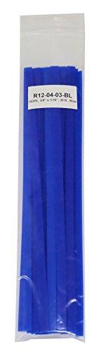 High Density Polyethylene HDPE Plastic Welding Rod 38 x 116 30 ft Blue
