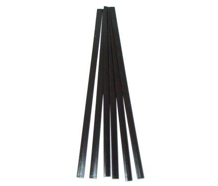 Polyethylene LDPE Plastic Welding Rod 38 in x 116 in Ribbon 5 Feet Black