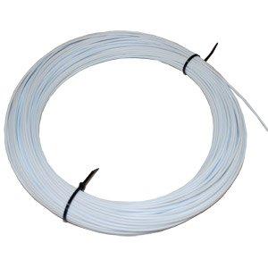 White 18 PVC Type-I Plastic Welding Rod - 1lb Coil