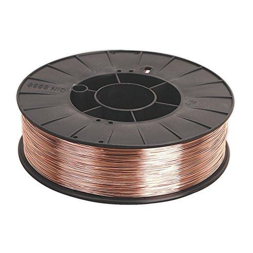 Sealey Mild Steel MIG Wire 50kg 08mm A18 Grade