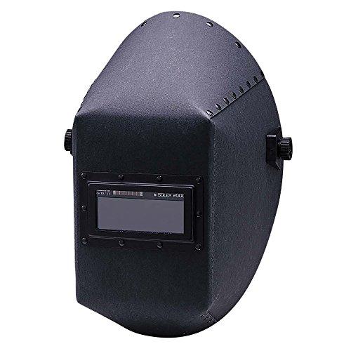 Jackson Safety 14527 W20 411P Black Fiber Shell Welding Helmet 4-14 Length x 2 Width Pack of 4