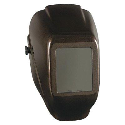 Jackson Safety 20508 WH10 HLX 100 Passive Welding Helmet 10 Heavy Metal 4 12 x 5 14 Green Heavy Metal