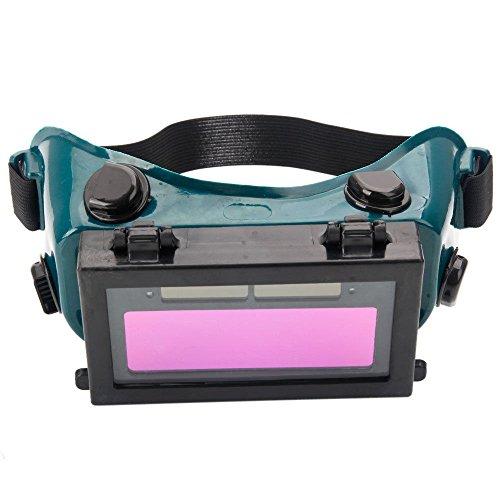 Pro Solar Auto Darkening Helmet Eye Goggle Welding Mask Welder Glasses Arc Black