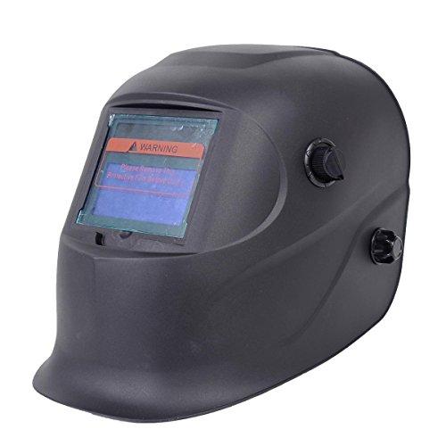 Toolsempire Auto Darkening Solar Welding Helmet Arc Tig Mig Grinding Welder Mask Black