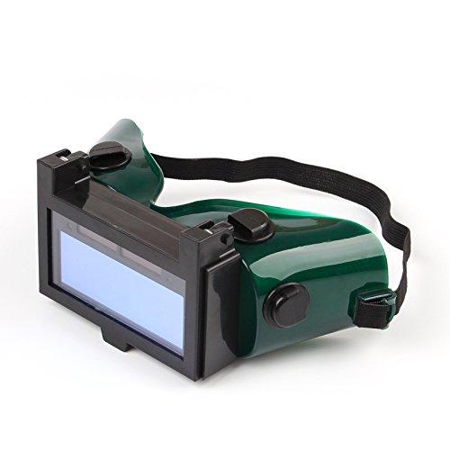 Areyourshop Solar Auto Darkening Welding Mask Helmet Eyes Goggle Welder Glasses Black