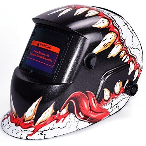 Cosway Professional Solar Arc Tig Mig Auto-Darkening Welding Mask Helmet US STOCK