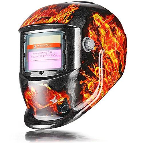 Adjustable Auto Darkening Solar Welding Helmet Mask