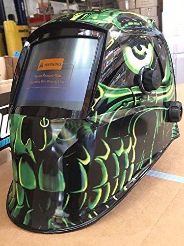 USA seller GG Auto Darkening Solar Powered Welders Welding Helmet Mask With Grinding Function