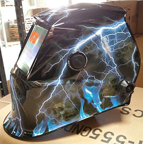 USA seller SKR Auto Darkening Solar Powered Welders Welding Helmet Mask With Grinding Function