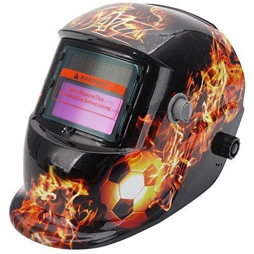 Z ZTDM Welding Helmet Mask Pro Solar Auto Darkening Adjustable Shade Range DIN 9-13REST DIN 4Welder Protective Gear ARC MIG TIGCE EN379 ANSI Z871 Flame Soccer
