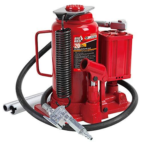 Torin Big Red Air Hydraulic Bottle Jack 20 Ton 40000 lb Capacity