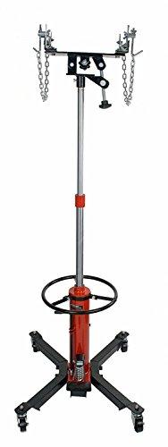 1300 LB 2 Stage Hydraulic Transmission Jack 360° Swivel Wheels Lift Hoist 06T