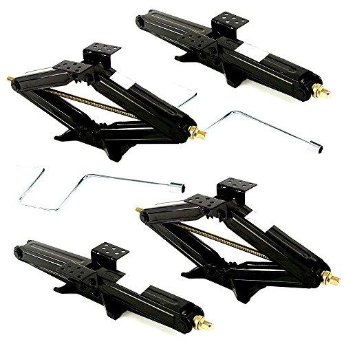 Τrailer Stabilizing Jack Handle 4 Pcs 24 5000lb RV Camper Scissor Leveling Stabilizer-Skroutz