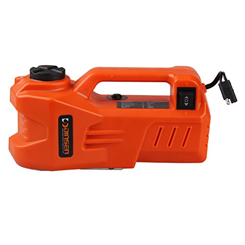 12V DC 1 Ton Electric Hydraulic Car Floor Jack with LED light 53-139 inch