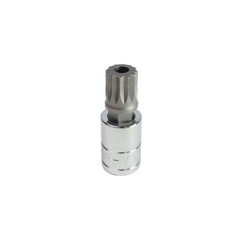 Capri Tools 30037 14mm XZN Triple Square Bit Socket with 12-Inch Drive