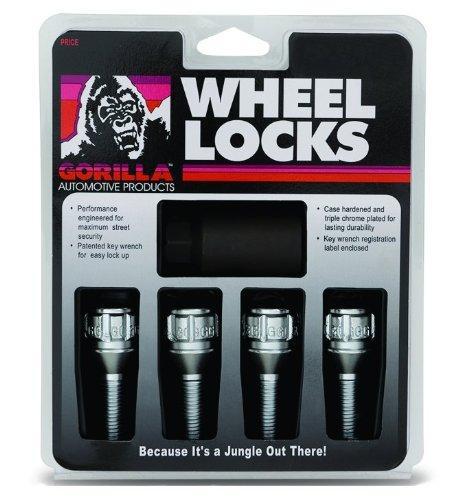 Gorilla Automotive 48020N Ball Seat Bolt Locks 14mm x 150 Thread Size - Pack of 4