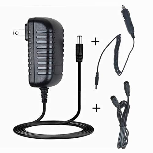 HISPD ACDC Adapter for EverStart MAXX 1200 Peak AMPS Jump Starter with Air Compressor and Inverter Ever Start 1200A 600A Jumpstarter Box Lot 11480 Power Supply Charger Cigarette Lighter Plug