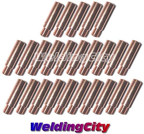 WeldingCity 25-pk MIG Welding Heavy Duty Contact Tip 11H-30 0030 for Lincoln Tweco MIG Guns 100L Mini