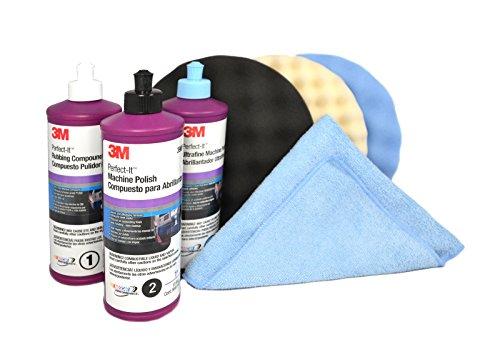 3M Perfect It Buffing Polishing Kit 3906039061390625723572557516017