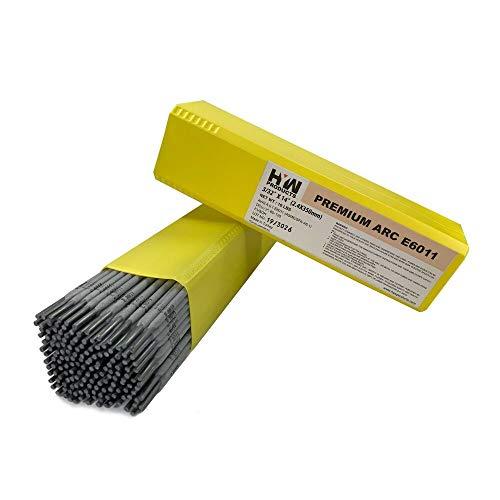 332 Premium Arc Welding Rods Carbon Steel Electrode 10 lb Box E6011