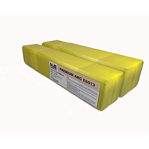 E6013 332 18 532 Premium Arc Welding Rods Carbon Steel Electrode 10 lb x 2 1-pk 18&532