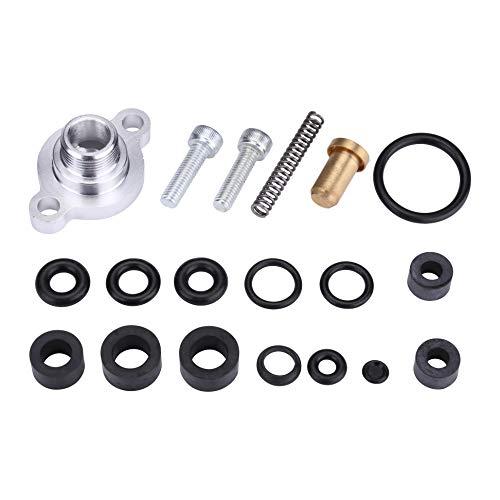 Fuel Pressure Regulator Valve Cap Spring Kit for Ford 73L 1999 2000 2001 2002 2003 Powerstroke Diesel