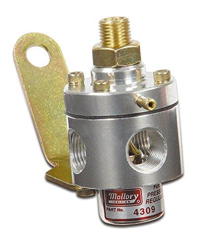 Mallory 29387 Adjustable Fuel Pressure Regulator 3-12PSI Carb