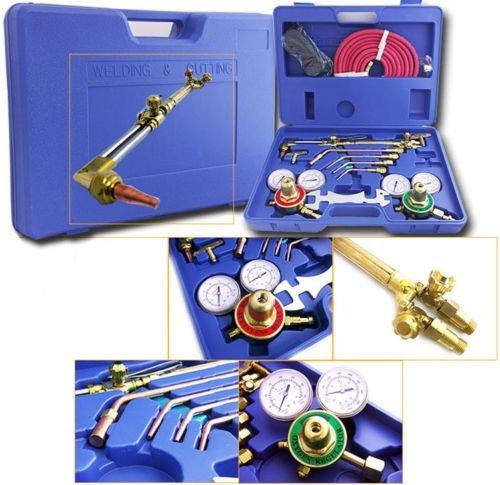 Generic Acetylene We Acetylene Welder Tool C Tool Case Acetyl Welding Cutting en Torch Victor Type Gas Welding Kit Oxygen Torch or