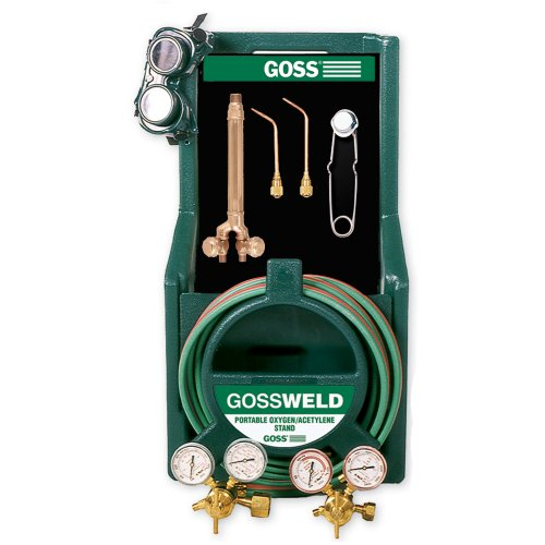 Goss KA-125-M12P Welding and Brazing HVAC Torch Tool Kit for MC Acetylene Tanks