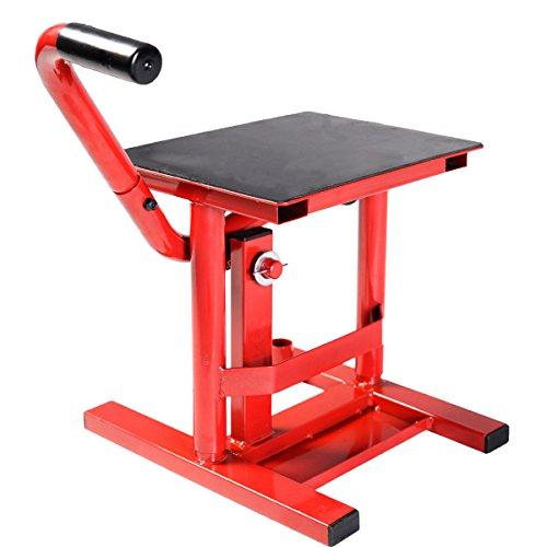 Comie Adjustable Motorcycle Racing Offroad Motocross Dirt Bike Steel Lift Jack Stand Maintenance