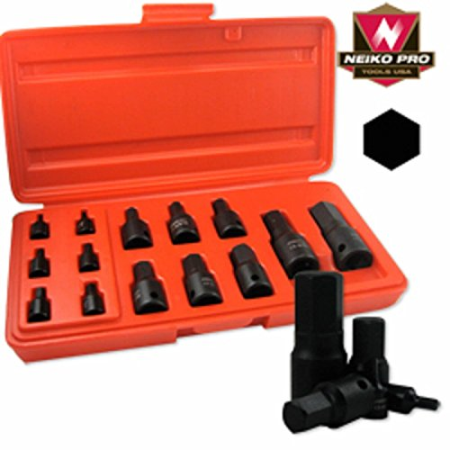 14pc Sae Impact Hex Socket Set 332` ~ 34