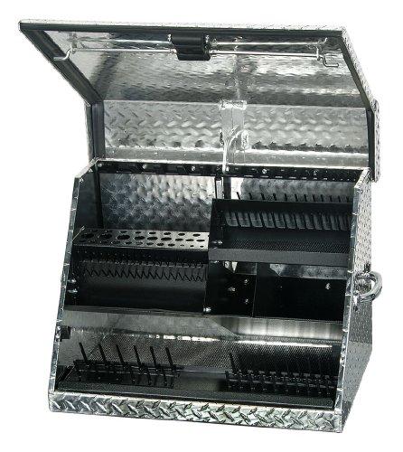 Montezuma - MZ-SE250AL - Portable Tool Box Aluminum 26 Overall Width x 17-38 Overall Depth